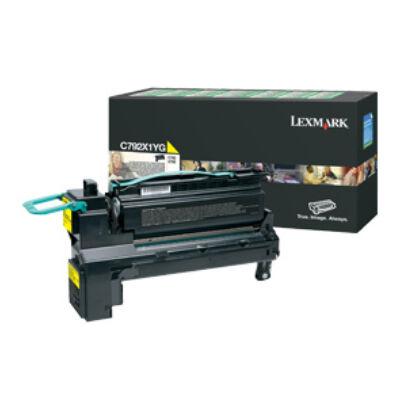Lexmark C792X1YG - 20000 oldal - Sárga - 1 db C792X1YG