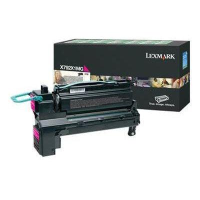 Lexmark X792X1MG - 20000 pages - magenta - 1 pc(s) X792X1MG
