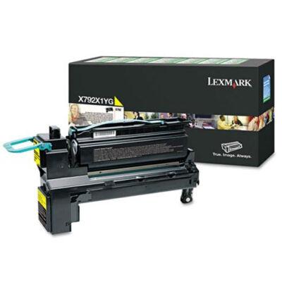 Lexmark X792X1YG - 20000 oldal - Sárga - 1 db X792X1YG