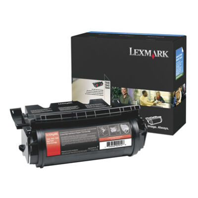 Lexmark T640 - T642 - T644 High Yield Print Cartridge - 21000 pages - Black 64040HW