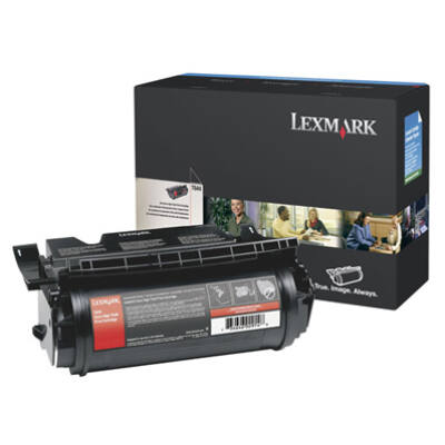 Lexmark T644 rendkívül nagy kapacitású nyomtatókazetta - fekete 64440XW
