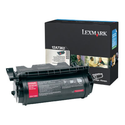 Lexmark T630 - T632 - T634 High Yield Print Cartridge (21K) - 21000 pages - Black 12A8244