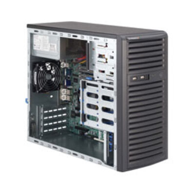 Supermicro SuperServer 5037C-i - Intel® C202 - LGA 1155 (Socket H2) - Intel - Intel® Celeron® - Intel® Pentium® - E3-1200 - DDR3-SDRAM SYS-5037C-I