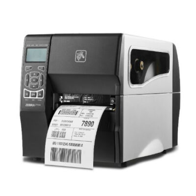 Zebra ZT230 - Thermal transfer - 203 x 203 DPI - 152 mm/sec - 10.4 cm - Black,White - LCD ZT23042-T0E100FZ