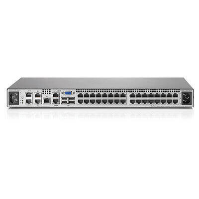 AF622A HP Enterprise IP Console G2 Switch with Virtual Media and CAC 4x1Ex32