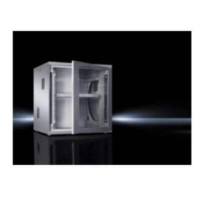 "Rittal 7507.210 - 18U - Freestanding rack - Grey - Glass,Steel - 48.3 cm (19"") - 700 mm 7507210"