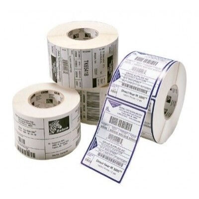Zebra Z-Ultimate 3000T - White - Self-adhesive printer label - Polyester - Acrylic - Permanent - 7.6 cm 87443