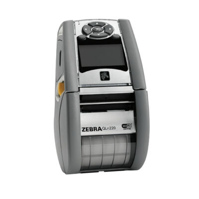 Zebra QLn220 - Direct thermal - Mobile printer - 203 x 203 DPI - 4 ips - 102 mm/sec - 1D,2D QH2-AUCAEM00-00