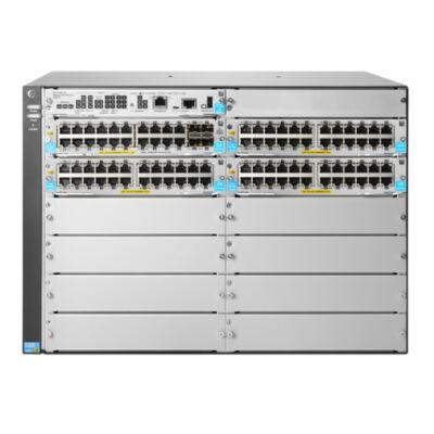 HP JL001A 5412R 92GT PoE + és 4 portos SFP + (nincs PSU) v3 zl2 kapcsoló