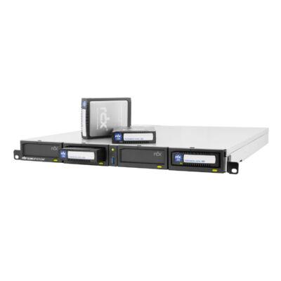 Tandberg RDX-Laufwerk 8920-RDX iSCSI állványos változat - schwarz - 1U állvány 1x iSCSI 8920-RDX