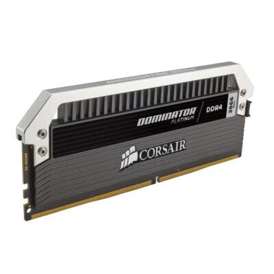 Corsair Dominator Platinum 128 GB - 128 GB - 8 x 16 GB - DDR4 - 2666 MHz - 288-pin DIMM - Black,Silver CMD128GX4M8A2666C15