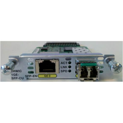 Cisco NIM-1GE-CU-SFP= - Gigabit Ethernet - 1000 Mbit/s - SFP - Cisco 4000 - 0 - 40 °C - -40 - 70 °C NIM-1GE-CU-SFP