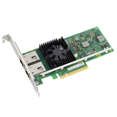 Grafenthal 653G5006 - Internal - Wired - PCI Express - Ethernet - 10000 Mbit/s - Black,Green,Stainless steel 653G5006