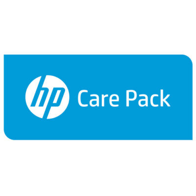 HP Enterprise 1y PW CTR 1U USB szalagos tömb FC - 1 év U3BM4PE