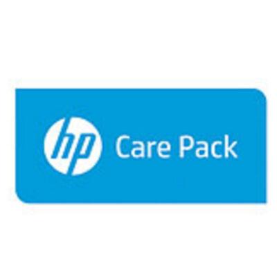 HP Enterprise 1y PW CTR 5U 70 HDD ENC FC - 1 year(s) U4WX4PE
