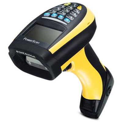 Datalogic PowerScan PM9300 - Handheld bar code reader - 1D - Laser - Codabar,Code 11,Code 128,Code 32,Code 39,Code 93,EAN 2,EAN 5,MSI,Plessey,U.P.C. - 104 reads/s - 680 nm PM9300-DK433RB