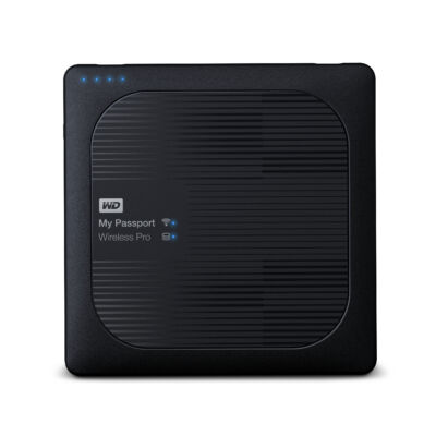 "WD My Passport Wireless Pro - 4000 GB - 2.5"" - 3.2 Gen 1 (3.1 Gen 1) - Black WDBSMT0040BBK-EESN"