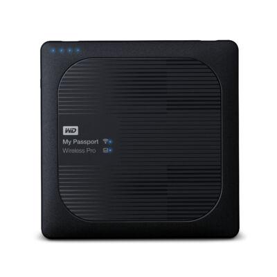 WD My Passport Wireless Pro - 4000 GB - 2,5 - 3,2 Gen 1 (3.1 Gen 1) - Fekete WDBSMT0040BBK-EESN