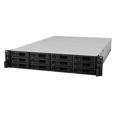 RS3617XS+/96TB-REDPRO Synology RackStation RS3617xs+ NAS Rack (2U) Ethernet LAN Black - Grey