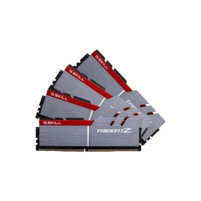 G.Skill Trident Z 32GB DDR4 - 32 GB - 4 x 8 GB - DDR4 - 4000 MHz - 288-pin DIMM - Black,Grey F4-4000C18Q-32GTZ