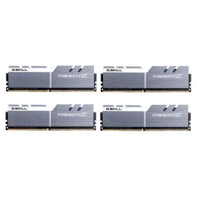 G.Skill F4-4000C18Q-32GTZSW - 32 GB - 4 x 8 GB - DDR4 - 4000 MHz - Silver F4-4000C18Q-32GTZSW
