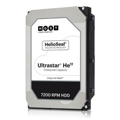 HGST WD Ultrastar DC HC520 HUH721212AL4200 - - 12 TB - belső - 3.5 - SAS 12Gb / s - HDD - soros csatolt SCSI (SAS)