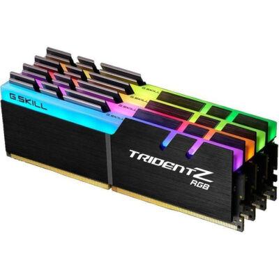 G.Skill 64GB DDR4-3200 - 64 GB - 4 x 16 GB - DDR4 - 3200 MHz - 288-pin DIMM F4-3200C14Q-64GTZR