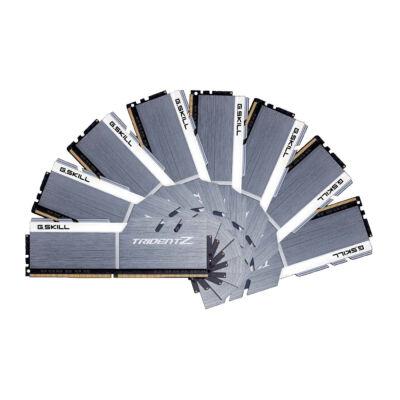 G.Skill 128GB DDR4-3600 - 128 GB - 8 x 16 GB - DDR4 - 3600 MHz - 288-pin DIMM - Silver,White F4-3600C17Q2-128GTZSW