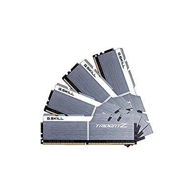G.Skill 32GB DDR4-3733 - 32 GB - 4 x 8 GB - DDR4 - 3733 MHz - 288-pin DIMM - Silver,White F4-3733C17Q-32GTZSW