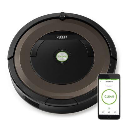 iRobot Roomba 896 - Black,Brown - Round - 0.6 L - AeroForce - Carpet,Hard floor,Laminate - Lithium-Ion (Li-Ion) R896040