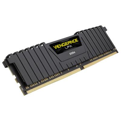 Corsair Vengeance LPX 64GB - DDR4 - 4133MHz - 64 GB - 8 x 8 GB - DDR4 - 4133 MHz - 288-pin DIMM - Black CMK64GX4M8X4133C19
