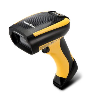 Datalogic PowerScan PM9100 - Handheld bar code reader - 1D - LED - Codabar,Code 128,Code 32,Code 39,Code 93,EAN 2,EAN 5,EAN-13,GS1 DataBar Expanded,GS1 DataBar... - -45 - 45° - -75 - 75° PM9100-433RB