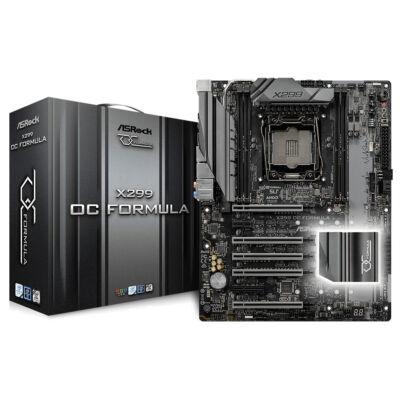 ASRock X299 OC Formula - Intel - LGA 2066 - Intel® Core™ X-series - DDR4-SDRAM - DIMM - 4600,2133,2400,2666,2800,2933,3200,3600,3733,3800,3866,4000,4133,4266,4400,4500 MHz 90-MXB5T0-A0UAYZ