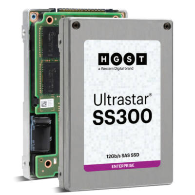 WD Ultrastar SS300 - 400 GB - 2,5 - 2100 MB / s - 12 Gbit / s 0B34980