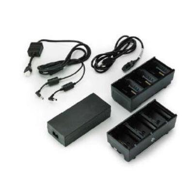 Zebra SAC-MPP-6BCHEU1-01 - Akkumulátortöltő - Beltéri - Fekete - AC-DC - Zebra - ZQ610 ZQ620 ZQ510 ZQ520 QLn220 QLn320 QLn220 HC QLn320 HC SAC-MPP-6BC