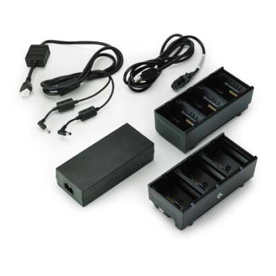 Zebra SAC-MPP-6BCHUK1-01 - AC - ZQ610 - ZQ620 - QLn220 - QLn320 - QLn420 - QLn220 HC - QLn320 HC - ZQ510 - ZQ520 - Black - Indoor battery charger - DC SAC-MPP-6BCHUK1-01