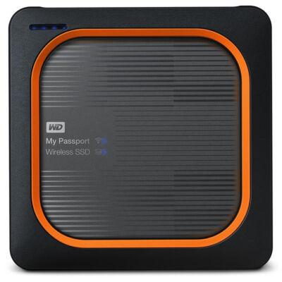 WD My Passport - 500 GB - A típusú USB - 2,0 - 390 MB / s - szürke, narancs WDBAMJ5000AGY-EESN