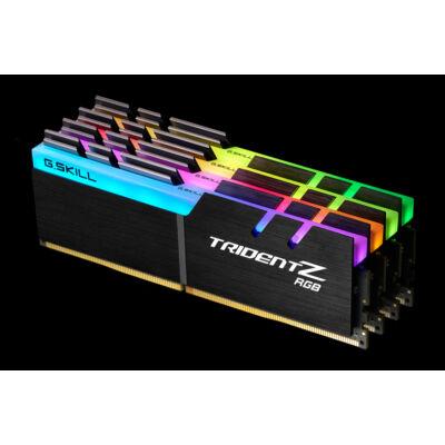 G.Skill Trident Z RGB - 32 GB - 4 x 8 GB - DDR4 - 4133 MHz - Black F4-4133C19Q-32GTZRF