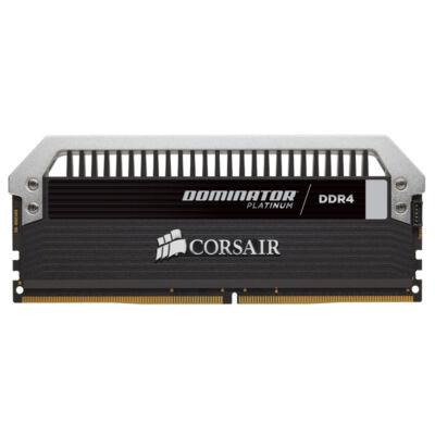 Corsair Dominator Platinum - 64 GB - 4 x 16 GB - DDR4 - 2666 MHz - 288-pin DIMM - Black,Gold,Platinum CMD64GX4M4A2666C15