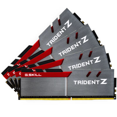 G.Skill 64GB DDR4-3200 - 64 GB - 4 x 16 GB - DDR4 - 3200 MHz - 288-pin DIMM F4-3200C14Q-64GTZ