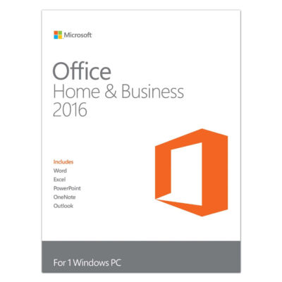 Microsoft Office Home & Business 2016 - Public Key Certificate (PKC) - 1 license(s) - Product Key Card (PKC) - German - Windows 10 Education,Windows 10 Education x64,Windows 10 Enterprise,Windows 10 Enterprise... - Windows Server 2008 R2,Windows Serve