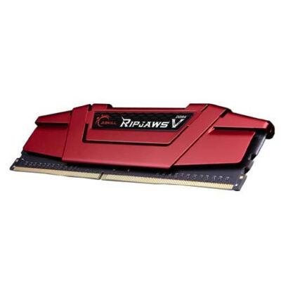 G.Skill Ripjaws V 64GB DDR4-3000Mhz - 64 GB - 4 x 16 GB - DDR4 - 3000 MHz - 288-pin DIMM - Red F4-3000C15Q-64GVR