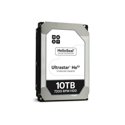 "WD Ultrastar He10 - 3.5"" - 10000 GB - 7200 RPM 0F27607"