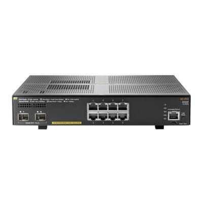 JL258A HP Enterprise Aruba 2930F 8G PoE + 2SFP + - Kapcsoló