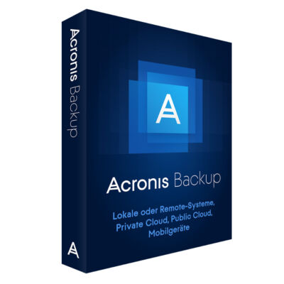 Acronis Backup 12.5 - Box - Windows Server 2008 - German B1WYBPDES