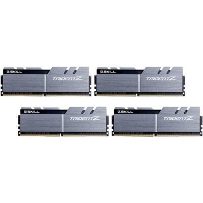 G.Skill 64GB DDR4-3200 - 64 GB - 4 x 16 GB - DDR4 - 3200 MHz - 288-pin DIMM - Black,Gold,Silver F4-3200C16Q-64GTZSK