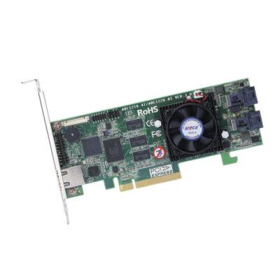 Areca Raid Controller ARC-1216-4I 4 portos gyakornok - Raid vezérlő - Serial Attached SCSI (SAS)