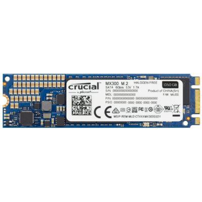 Crucial MX300 - 1050 GB - M.2 - 530 MB/s CT1050MX300SSD4
