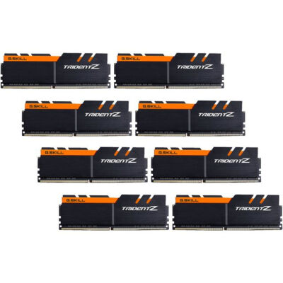 G.Skill 64GB DDR4-3200 - 64 GB - 8 x 8 GB - DDR4 - 3200 MHz - 288-pin DIMM F4-3200C16Q2-64GTZKO