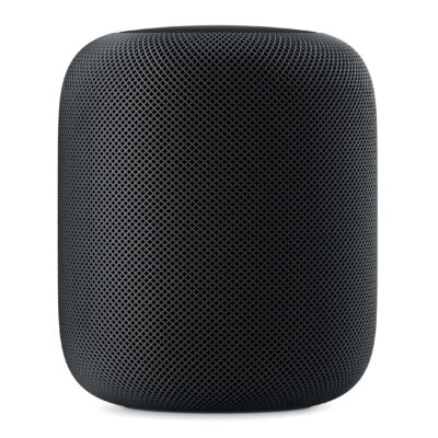 Apple HomePod - Wireless - Grey - Touch - Universal - AAC,AIFF,FLAC,HE-AAC,MP3,WAV - Built-in MQHW2D/A